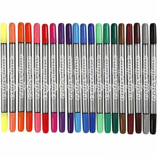 Creativ - Colortime Double Marker 20 Asst (CC37983)