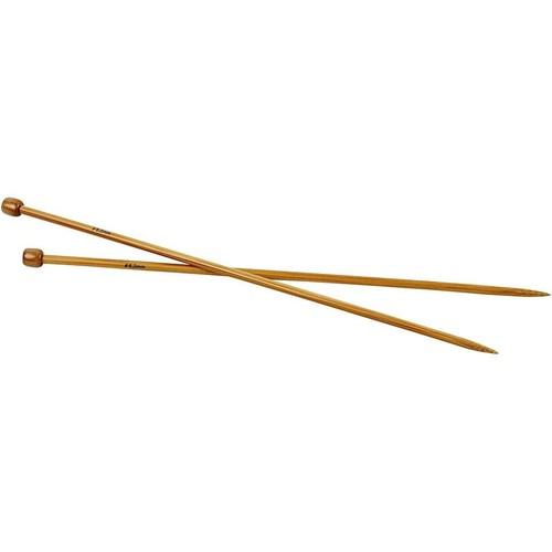 Bamboo Knitting Needles - 6.0mm - Box