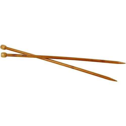 Bamboo Knitting Needles - 8.0mm - Box