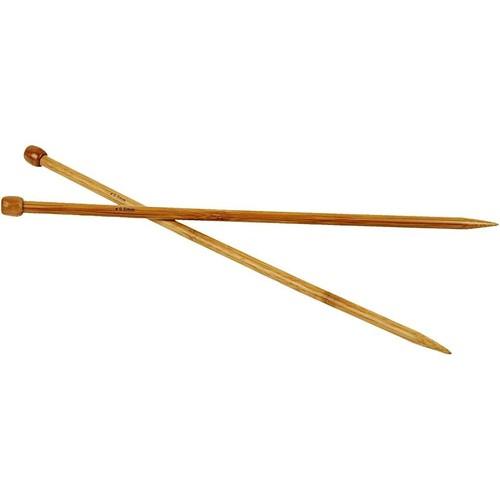 Bamboo Knitting Needles - 9.0mm - Box