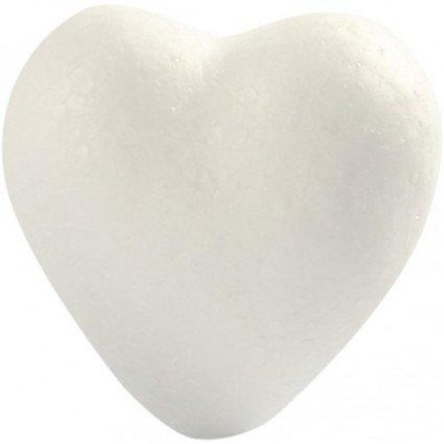 Hearts H:6cm polystyrene 5pcs (CC543521)