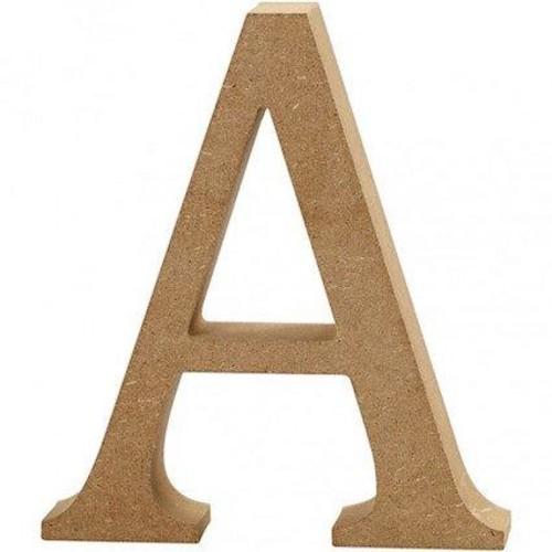 'A' Wooden Letters 1 pc (CC56310)