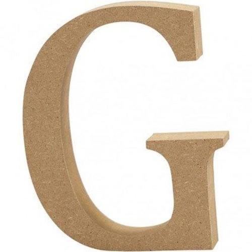 'G' Wooden Letters 1 pc (CC56316)