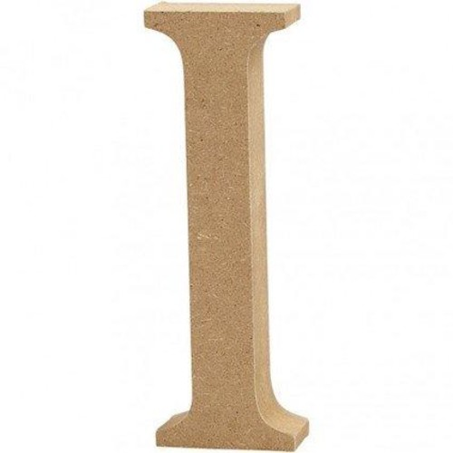 'I' Wooden Letters 1 pc (CC56318)