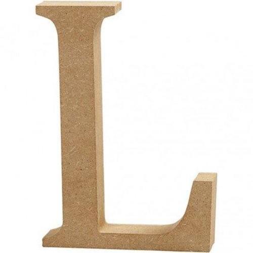 'L' Wooden Letters 1 pc (CC56321)