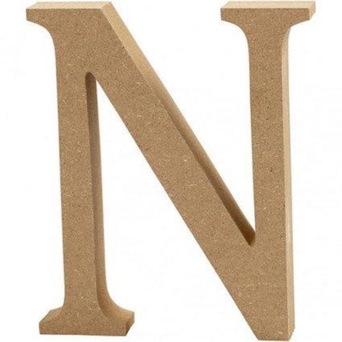 'N' Wooden Letters 1 pc (CC56323)