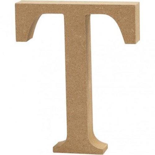 'T' Wooden Letters 1 pc (CC56329)