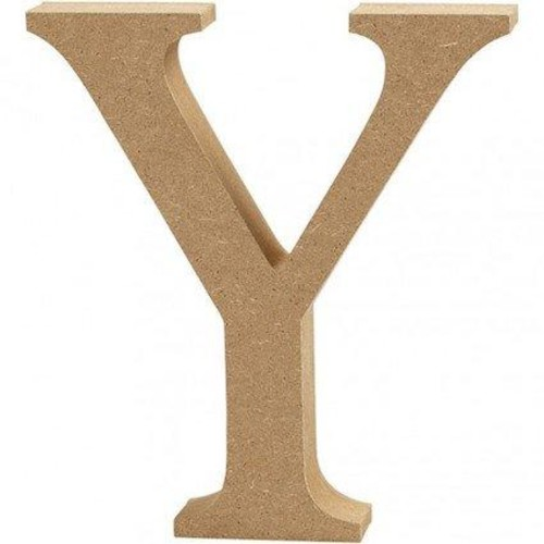 'Y' Wooden Letters 1 pc (CC56334)