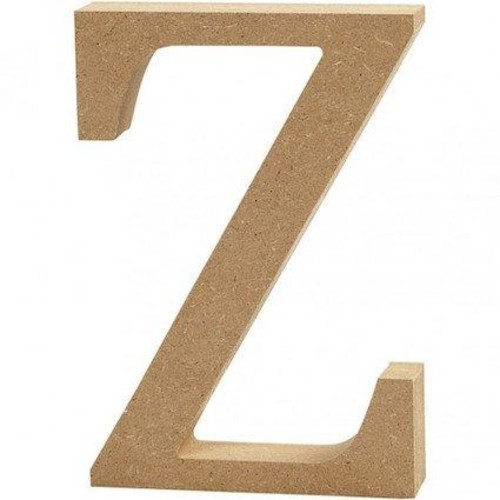 'Z' Wooden Letters 1 pc (CC56335)