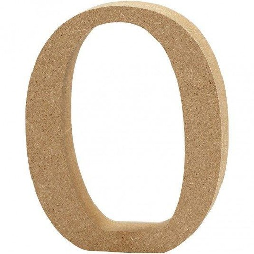 '0' Wooden Numbers pc (CC56338)