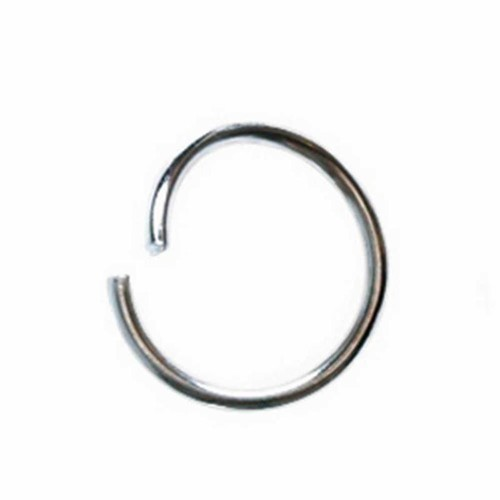 Round Jump Rings, 1,2 mm, silver-plated, SP, 200 pcs (CC61376)
