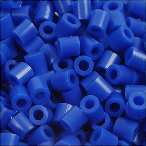 100 x Fuse Beads, Size 5x5mm, Hole Size 2.5mm, Dark Blue (21) Medium, 1 (CC751210)