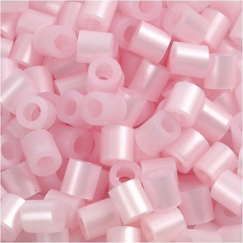 100 x Fuse Beads, Size 5x5mm, Hole Size 2.5mm, Rose Mother-Of-Pearl (26) Medium, 1 (CC751260)