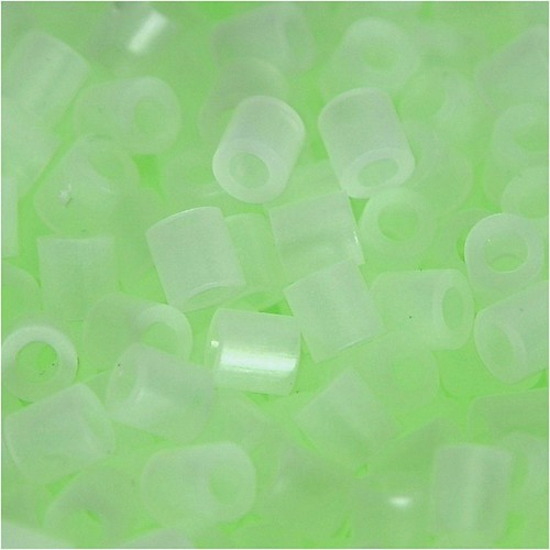 100 x Fuse Beads, Size 5x5mm, Hole Size 2.5mm, Luminous Medium, 1 (CC75283)