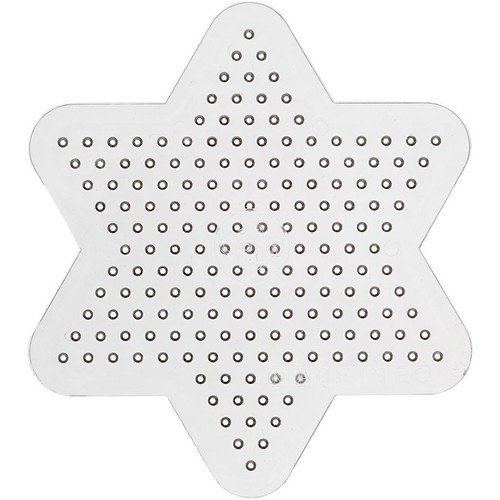 Peg Board, D:10cm, Small Star (10pcs) (CC753061)