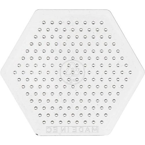 Peg Board, D:7.5cm, Small Hexagon (10pcs) (CC753071)