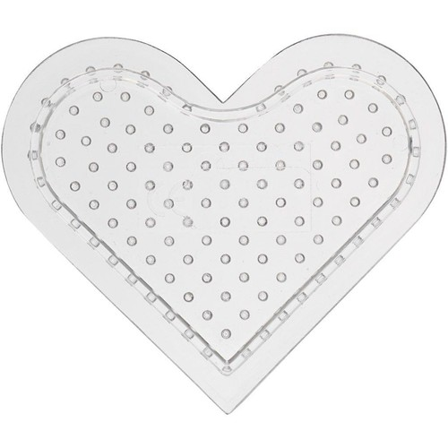 Peg Board, D:8cm, Small Heart 10pcs (CC753081)