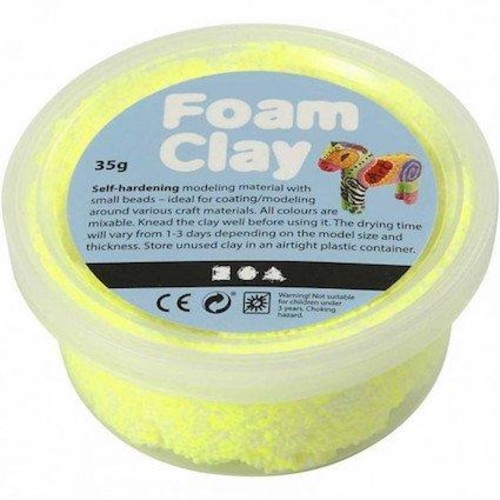 Foam Clay Neon Yellow 35g (CC78929)