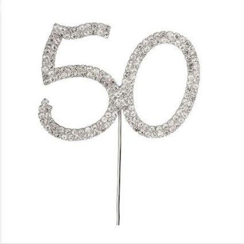 Diamante 50 On Silver Stem 57mm x 45mm (CCM3661)