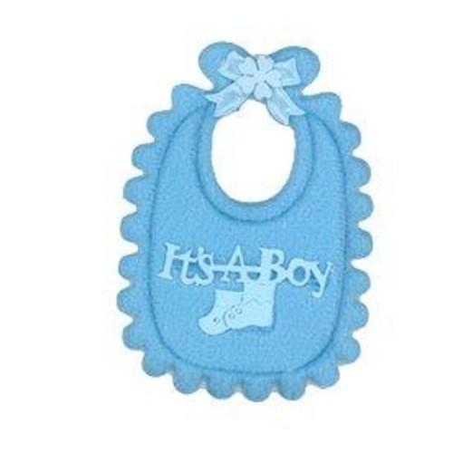 12 x Baby's Bibs Blue (CGP20BL)