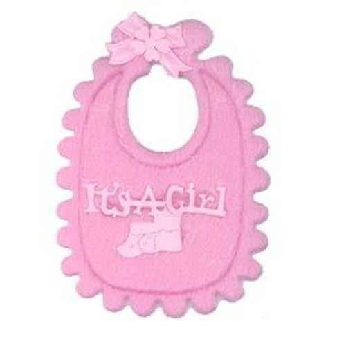 12 x Baby's Bibs Pink (CGP20PK)