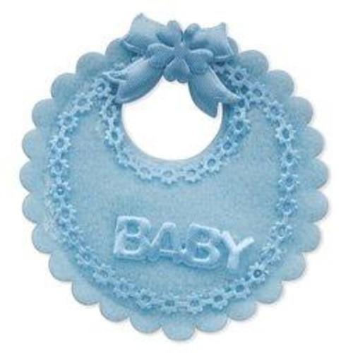 12 x Baby's Bibs Mini Blue (CGP21BL)