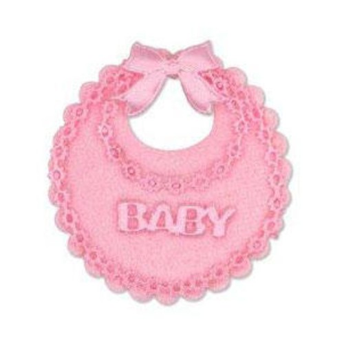 12 x Baby's Bibs Mini Pink (CGP21PK)