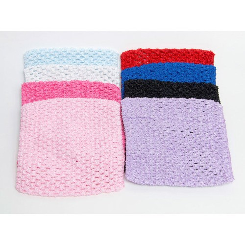 50mm Crochet Headbands 1 x 150mm x 30cm Circumference (un-stretched) (CH150)(Fuchsia)