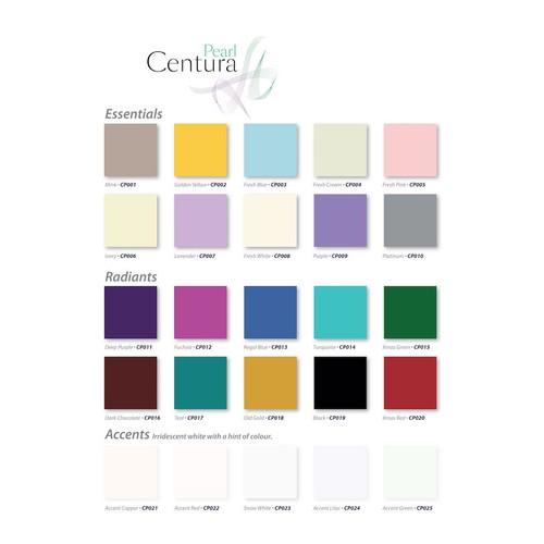 Centura Pearl - 5pk - Xmas Red (CP020)