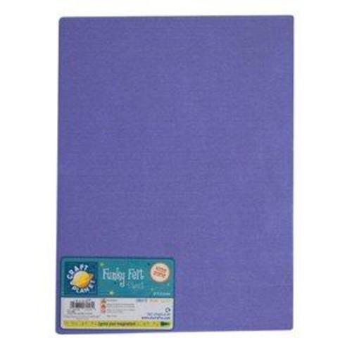 (CPT7016) - A4 Acrylic Felt - Lavender (24pk)