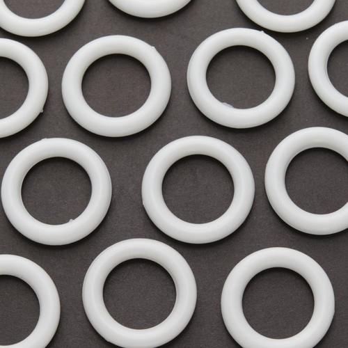 16mm Curtain Rings Plastic x 1000 Piece Bag (CRP)