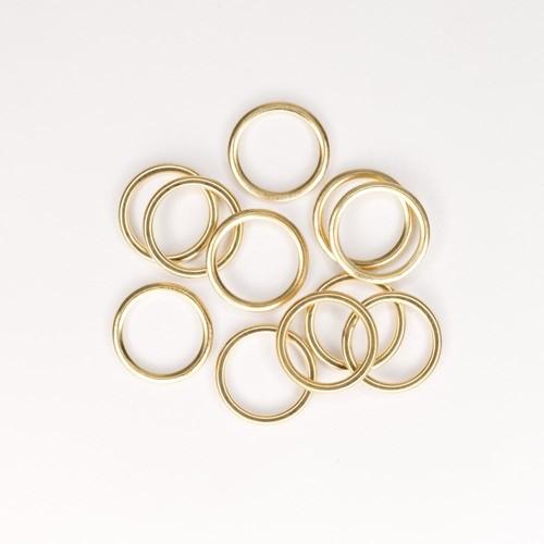 Curtain Rings Gold-Coloured Small 200 Piece Bag (CRSB200)
