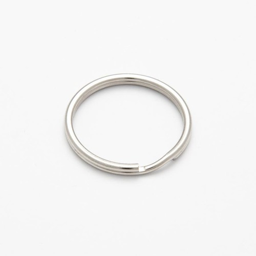 100 x Split Rings 13mm Silver (CX6313)
