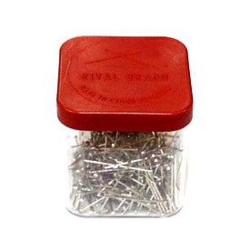 Mild Steel Straight Pins 25 Gram Box (D308)