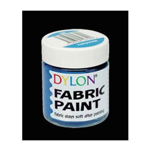 Dylon Fabric Paint 25ml Bottle Silver (DFP23)