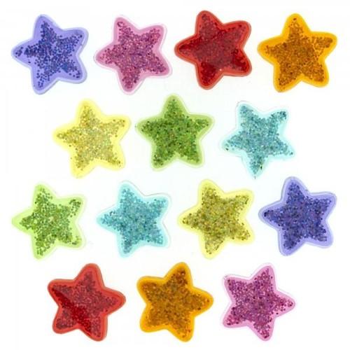 (DIU02243) - Dress It Up! Buttons - Glitter Stars