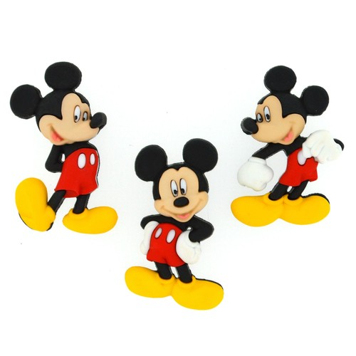 (DIUD07716) - Dress It Up! Disney Buttons - Mickey Mouse