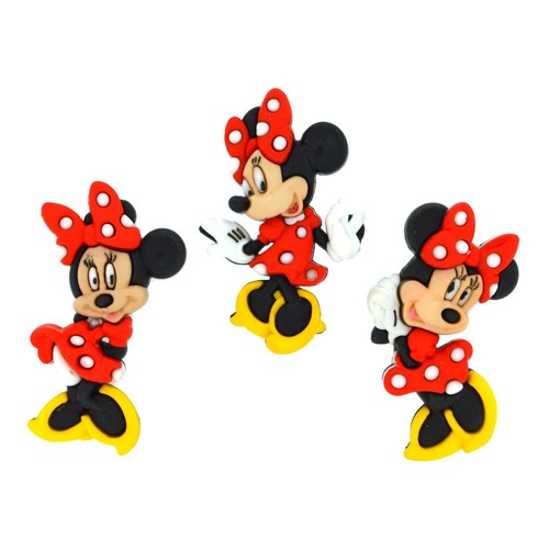 (DIUD07717) - Dress It Up! Disney Buttons - Minnie Mouse