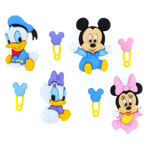 (DIUD07722) - Dress It Up! Disney Buttons - Disney Babies
