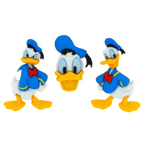 (DIUD07746) - Dress It Up! Disney Buttons - Donald Duck