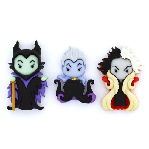 (DIUD09511) - Dress It Up! Disney - Ursula, Cruella de Vil & Maleficent
