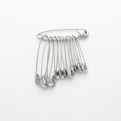 Daily Safety Pins Assorted 72 Bunch Box (DSP)