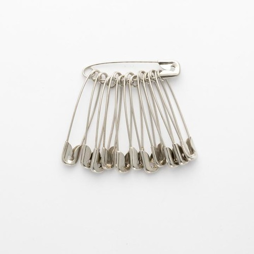Nickel Safety Pins Size 1 72 Bunch Box (DSP1)