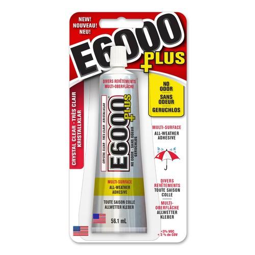 E6000 Plus Large Odourless Glue 56.1ml (E6000+L)