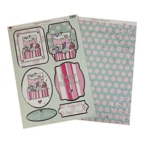 Sewing Box Toppers 2 A4 Set (EL002)