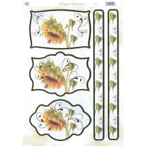 Elegant Elements Floral Toppers (EL035)