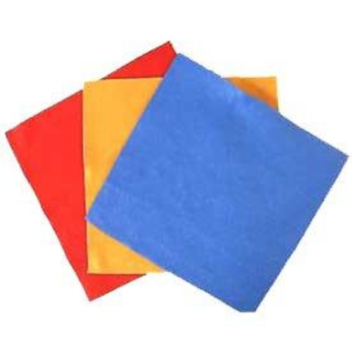 Felt Squares Assorted 4 x 4 Inch 10 Sheet Pack (F4A)