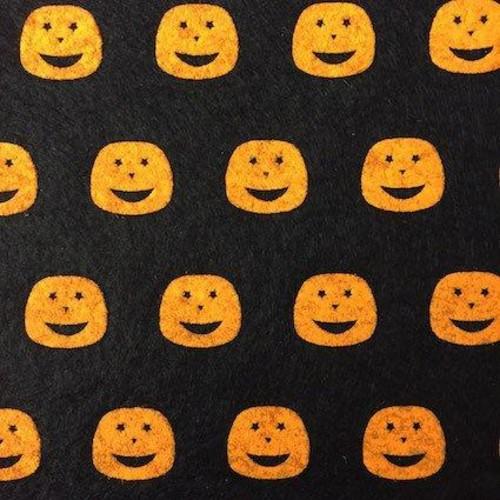 Halloween Felt 90cm x 60cm sheet