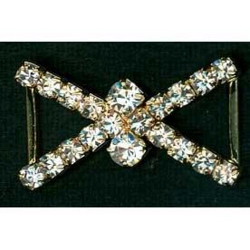 Diamante Accessories 28mm Fancy Criss Cross (G907)
