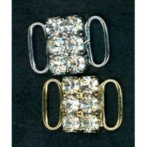 12mm Diamante Bra Accessories 2 Row (G919)